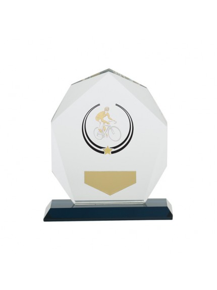 Glacier Cycling Glass Award 120mm