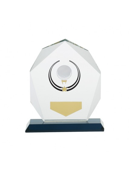 Glacier Golf Glass Award - Available in 3 Sizes