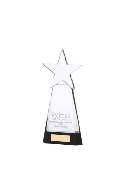 Legend Star Optical Crystal Award - Available in 2 Sizes