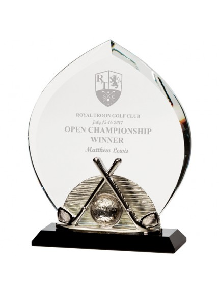 Venture Golf Crystal Award - Available in 2 Sizes