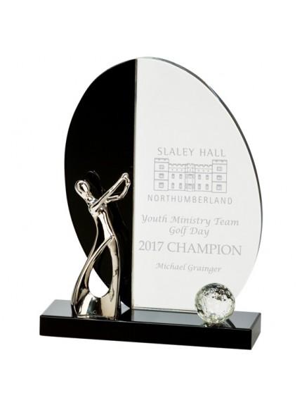 Elixir Golf Crystal Award - Available in 2 Sizes