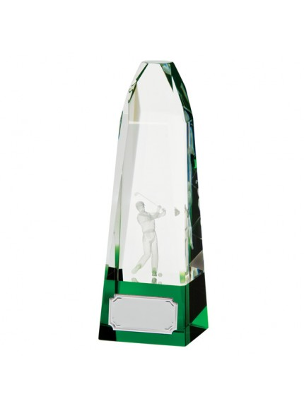 Pinnacle Golf Crystal Award 185mm