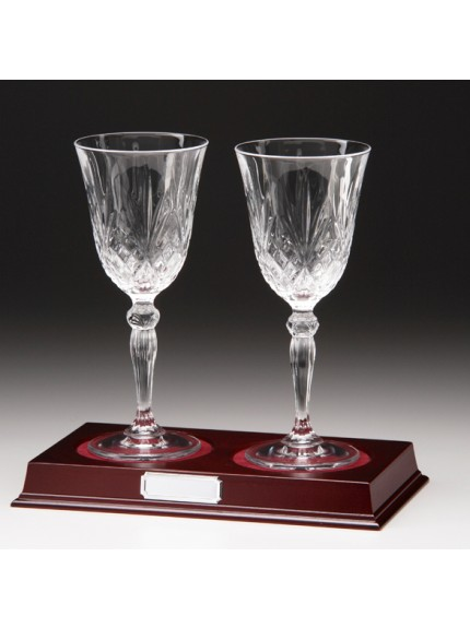 Lindisfarne Osana Wine Crystal Glasses 220mm