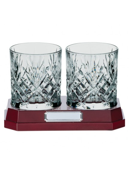Lindisfarne St Oswald Whiskey Glasses Crystal 120mm
