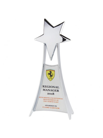 Las Vegas Chrome Plated Award Silver 275mm