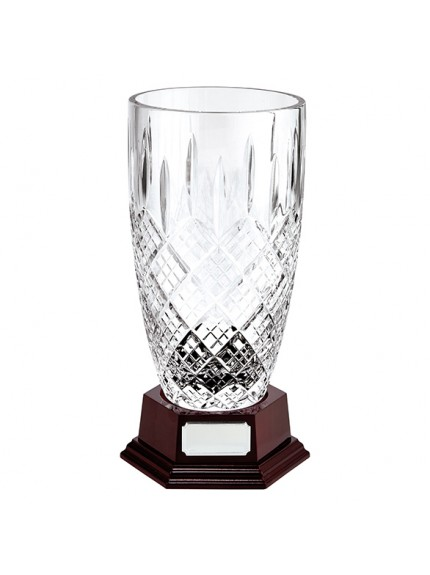 St. Bernica Crystal Vase - 2 Sizes