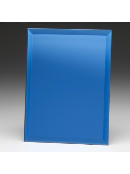 Azzuri Blue Mirrored Plaque