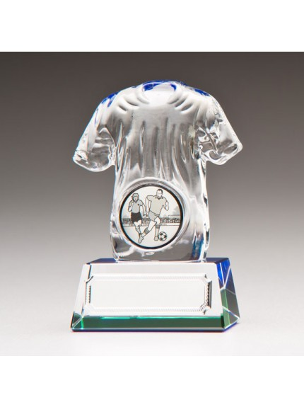 Icon Football Shirt Crystal Award 90mm