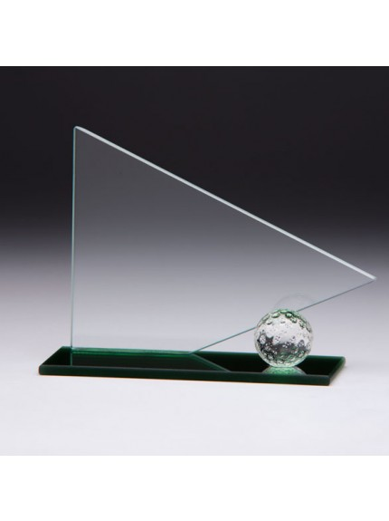 Jade Golf Match Play Glass Award