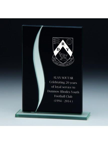 Spirit Fury Black Mirror Glass Award