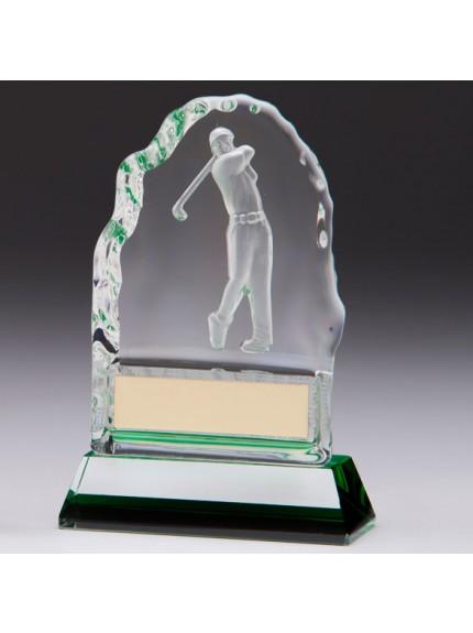 Challenger Shot Crystal Award