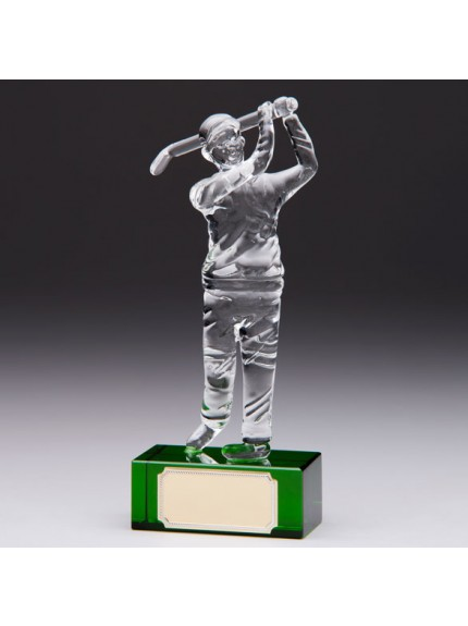 Acclaim Golfer Crystal Award