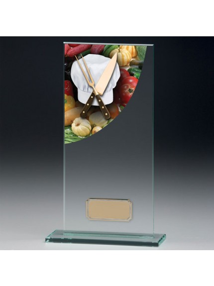 Cooking Colour-Curve Jade Crystal Award