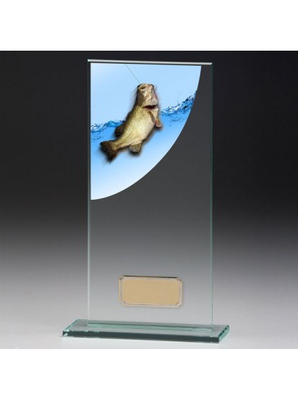 Angling Colour-Curve Jade Crystal Award