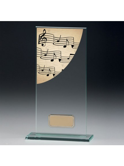 Music Colour-Curve Jade Crystal Award