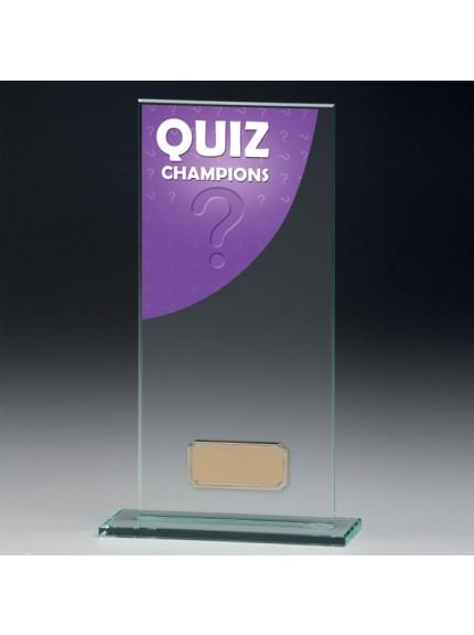 Quiz Colour-Curve Jade Crystal Award