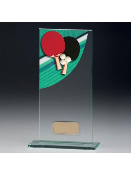 Table Tennis Colour-Curve Jade Crystal