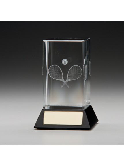 Conquest 3D Tennis Crystal Award