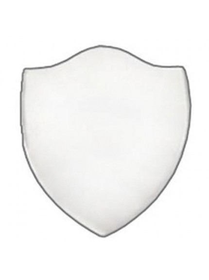 38mm Bevel Edged Silver Side Shield