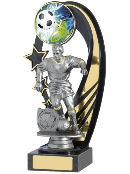 Male Football Backdrop Trophy