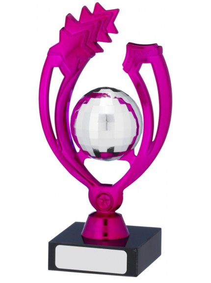 Pink Silver Trophy