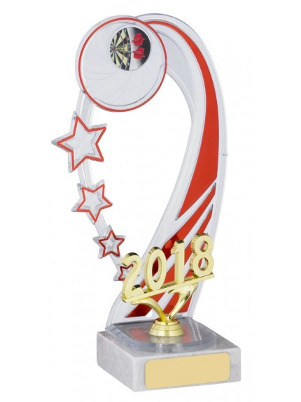2018 Red Backdrop Trophy