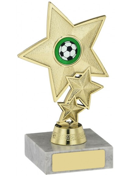 Three Star Holder Trophy