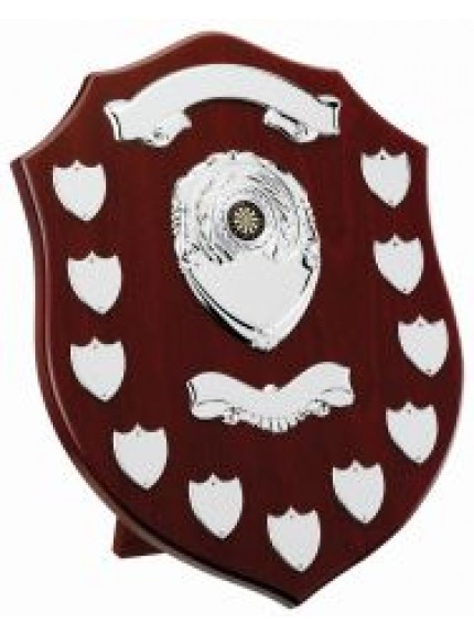 Mahogany Year Presentation Shield (11-13 Years)