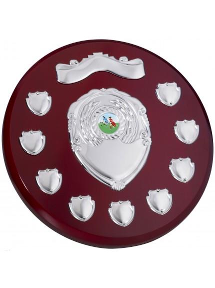 Rosewood Round 9 Year Presentation Shield - 25.5cm