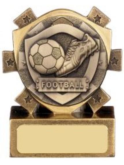 Mini Shield Football Award - Available In 3 Sizes