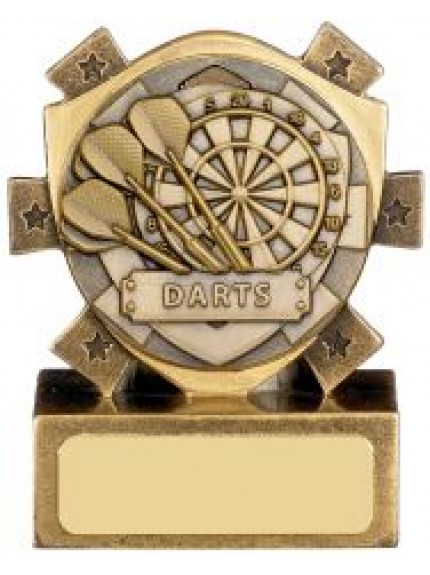 Mini Shield Darts Award