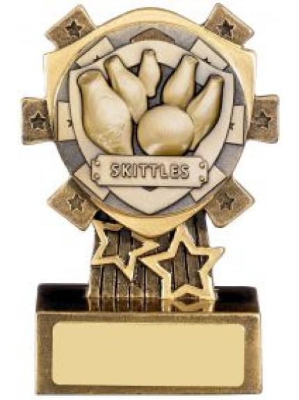 Mini Shield Skittles Award