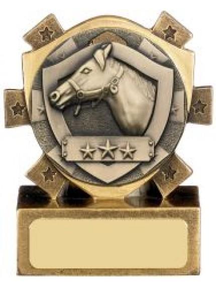 Mini Shield Equestrian Award