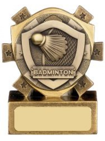 Mini Shield Badminton Award