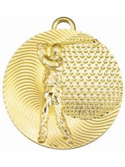 50mm Golf Male Medal