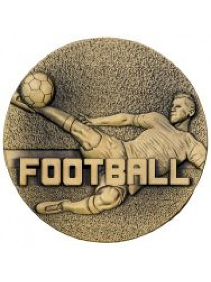 60mm Football Male Medal