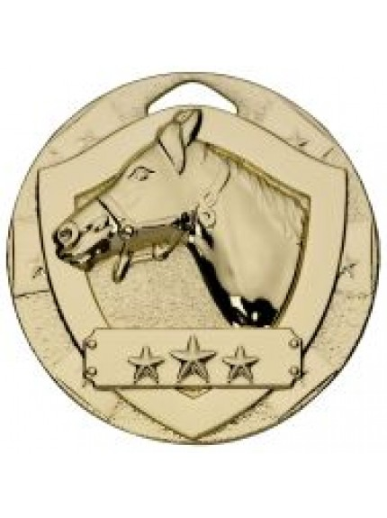 50mm Equestrian Mini Shield Medal