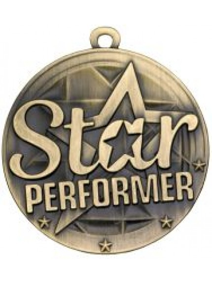 50mm Star Performer Medal
