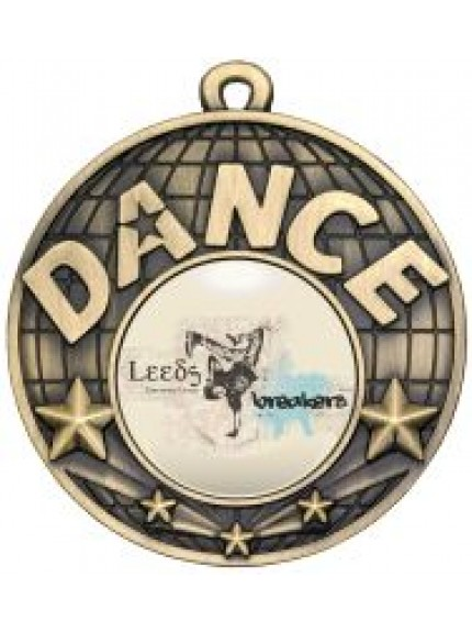 50mm Dance Medal