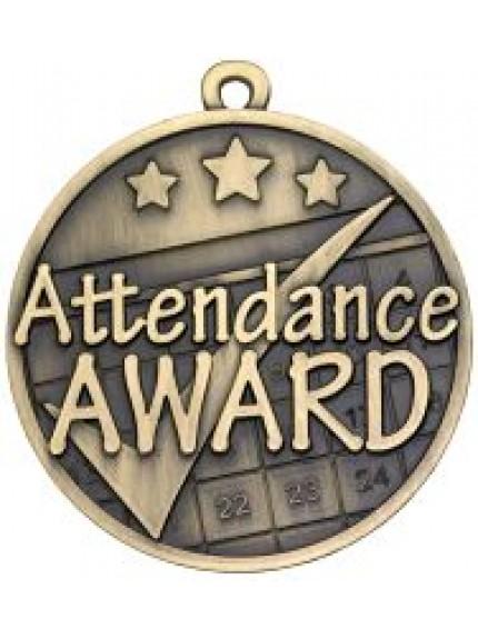 50mm Attendance Award Medal