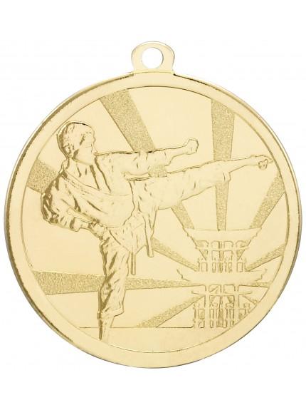 Martial Arts Gold Medal - 3 Colours