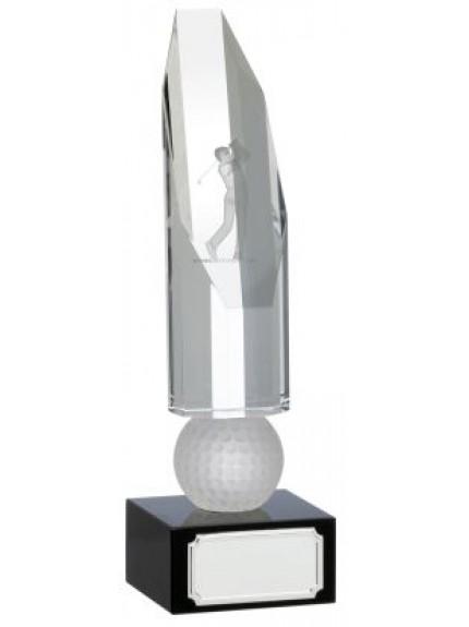 Golf Ball And Clubs Award