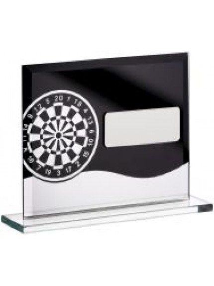 Darts Glass Block Award