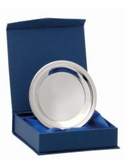 Nickel Plated Tray With Box