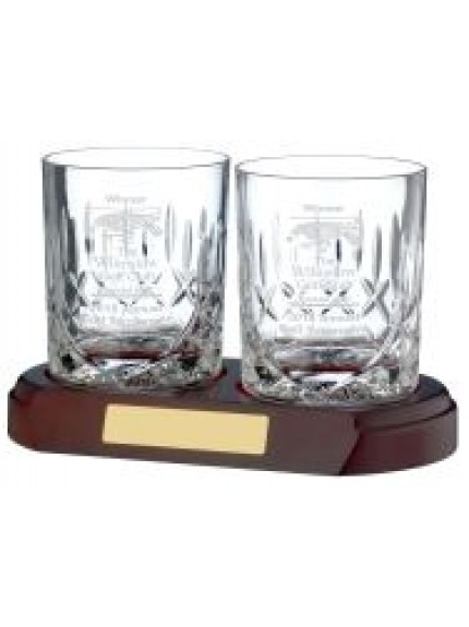 Whisky Glass Panelled