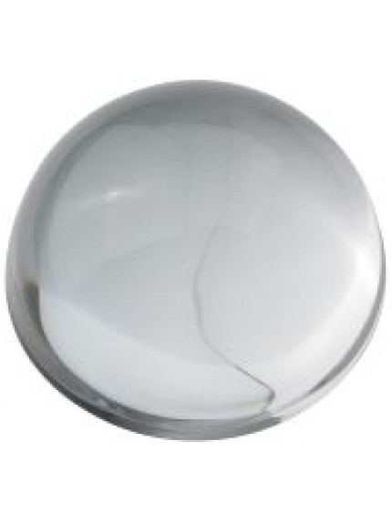 90mm Glass Domed Paperweight