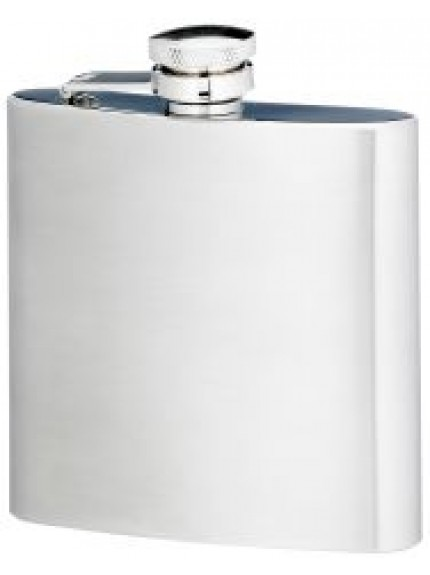 6 Ounce Stainless Steel Flask