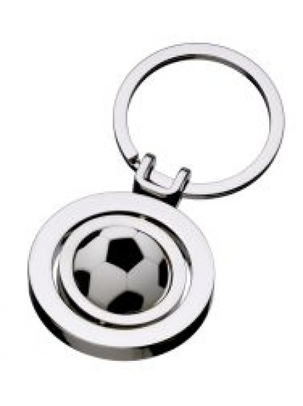 Football Spinner Keyring
