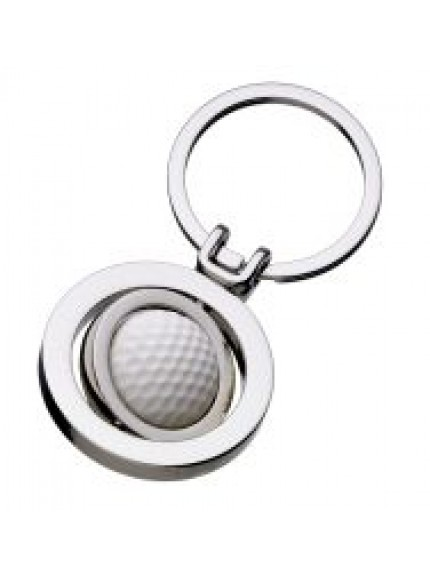 Golf Ball Spinner Keyring