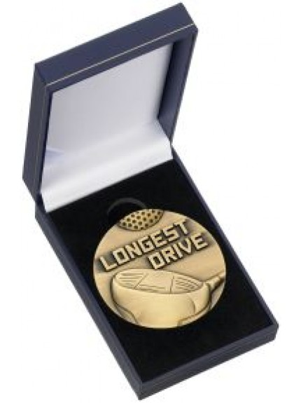 Longest Drive Medal & Box